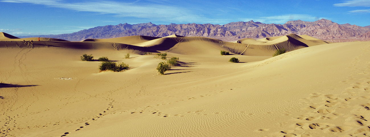 photo - death valley dunes