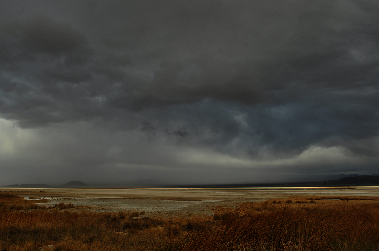 photo - Zzyzx / Soda Lake, rain